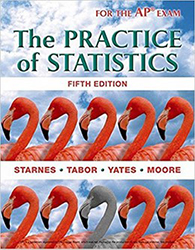 The Practice of Statistics textbook cover