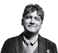 Picture of Sherman Alexie.