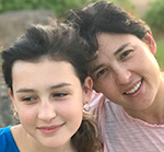 Kristen Chase and her 13-year old daughter, Quinlan