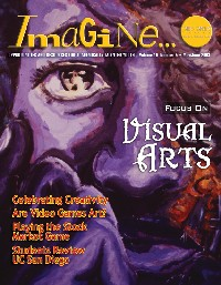 visual arts issue cover