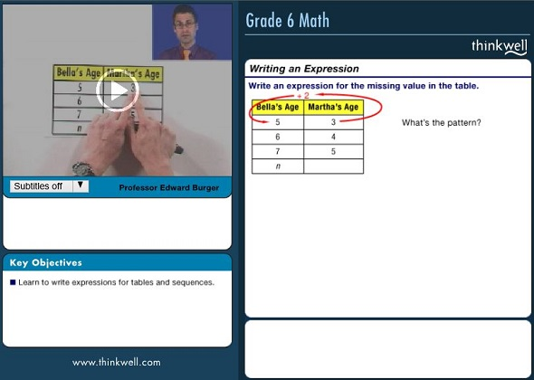Honors Grade 5 sample video
