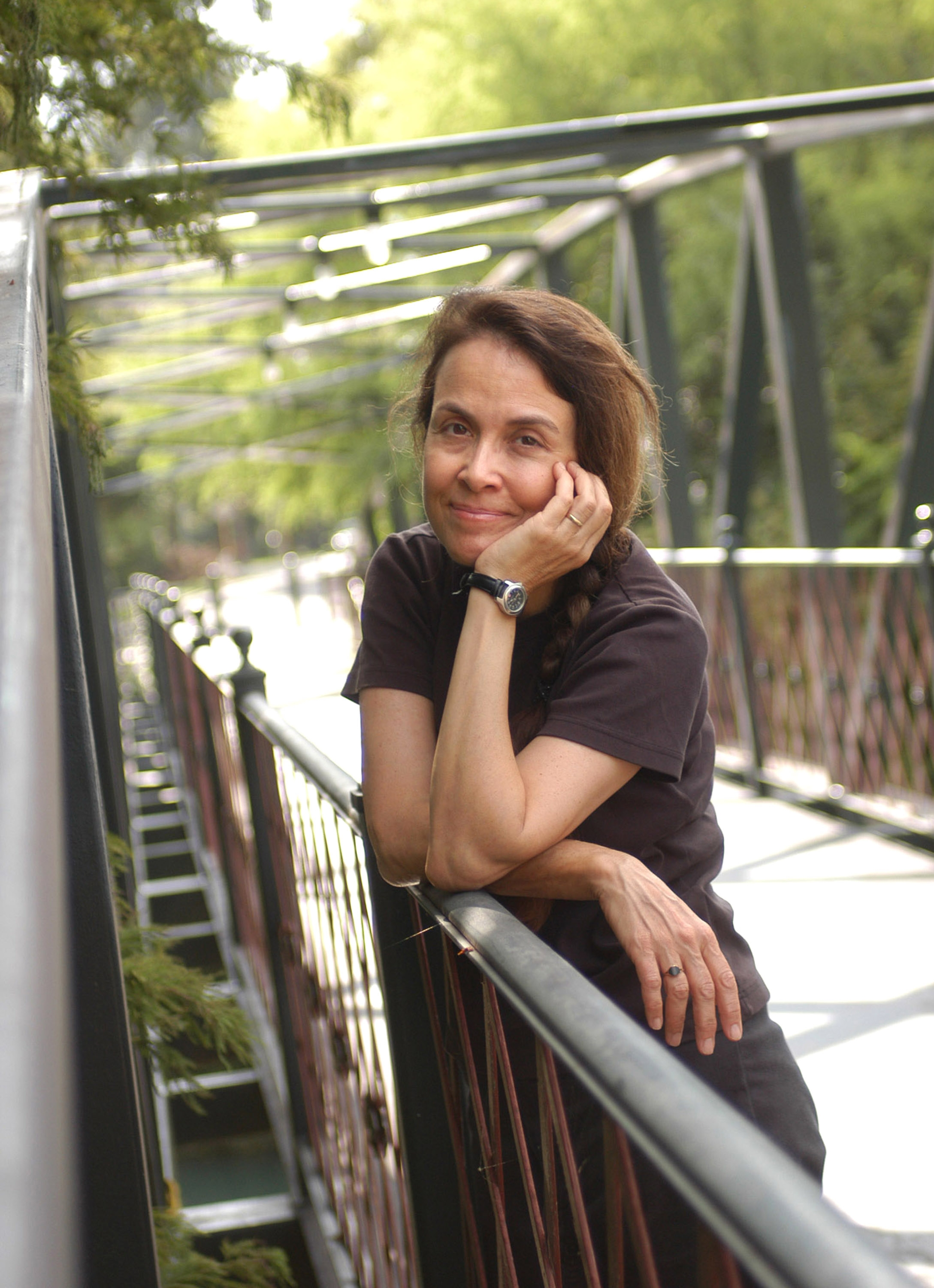 Picture of Naomi Shihab Nye, poet for Joshua Ringel event