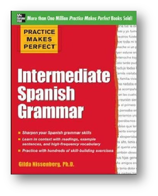 Spanish Grammar text cover