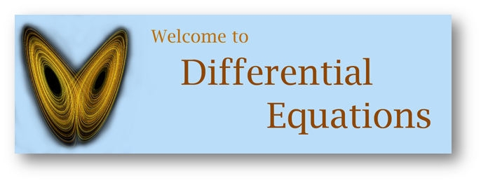 Differential Equations banner