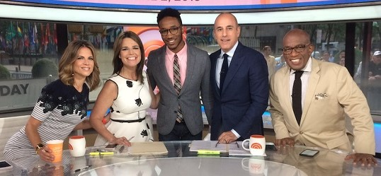 Koi in Today Show