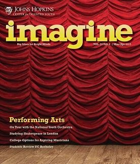 Imagine, Performing Arts Issue, March-April 2017