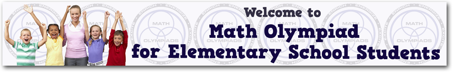Math Olympiad course banner