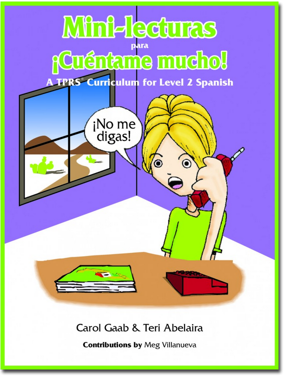 Cuentame Mucho Student Reader text cover