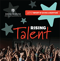 2017 Annual Report of Giving & Gratitude, Rising Talent, Johns Hopkins University Center for Talented Youth