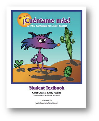 Cuentame Mas Student Text cover