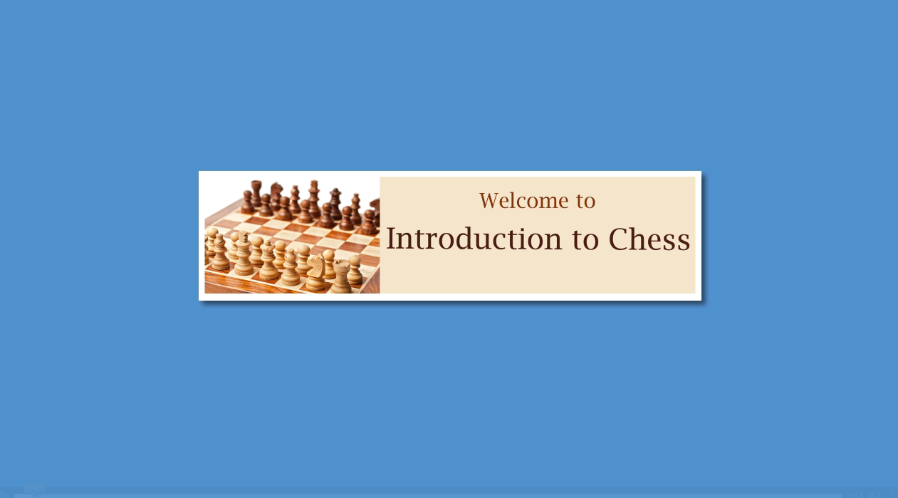 Intro to Chess virtual classroom video