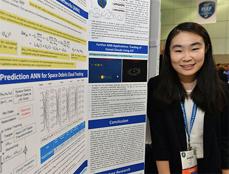 Intel Science Fair >> CTY Chat with Intel ISEF winner Amber Yang