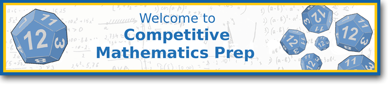competitive math prep banner