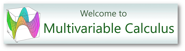 Image of Multivariable Calculus banner.